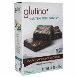 Gluten Free Brownie Mix  Double Chocolate, 16 oz Box