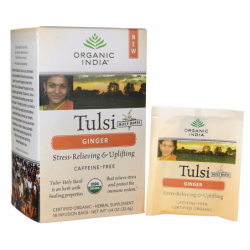 Tulsi Tea  Ginger, 18 Bag(s)