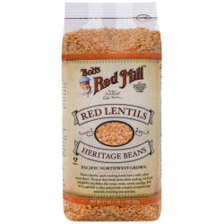 Premium Quality Red Lentils, 27 oz (765 grams) Pkg