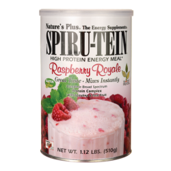 SpiruTein Energy Meal  Raspberry Royale, 1.12 lbs Pwdr