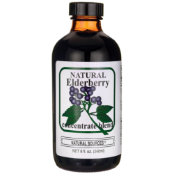 Natural Elderberry Concentrate Blend, 8 fl oz (240 mL) Liquid