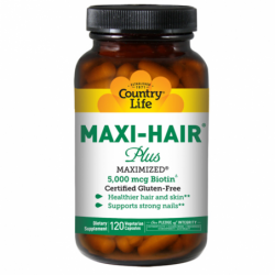 Maxi Hair Plus, 120 Veg Caps