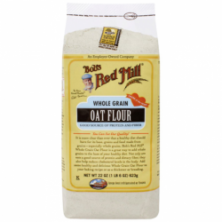 Whole Grain Oat Flour, 22 oz (623 grams) Pkg