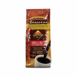 Mediterranean Herbal Coffee  Vanilla Nut, 11 oz Pkg