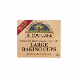 Unbleached Large Baking Cups, 60 Ct