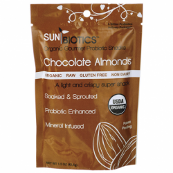 Chocolate Almonds with Probiotics, 1.5 oz Pkg