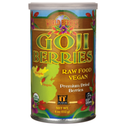 World Berries Goji Berries, 4 oz (112 grams) Pkg
