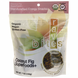 Coconut Fig SuperFoods Handcrafted Energy Snacks, 7 oz Pkg