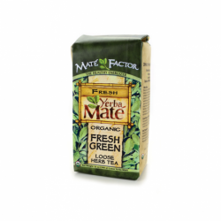 Organic Yerba Mate Fresh Green Loose Tea, 12 oz Pkg