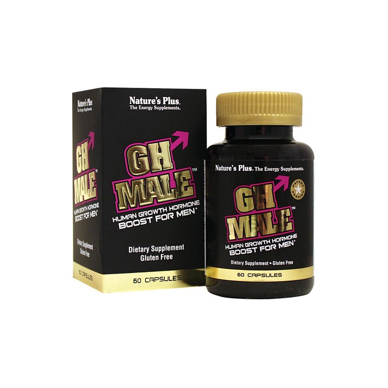 GH Male Human Growth Hormone Boost, 60 Caps
