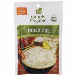 Ranch Dip Mix, 1.50 oz (43 grams) Pkg