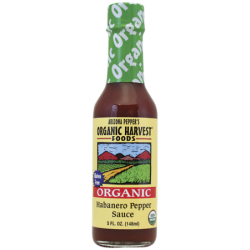 Organic Habanero Pepper Sauce, 5 fl oz (148 mL) Liquid