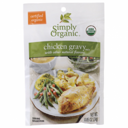 Chicken Gravy Mix With Other Natural Flavors, 0.85 oz (24 grams) Pkg