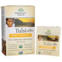 Honey Chamomile Tulsi Tea, 18 Bag(s)