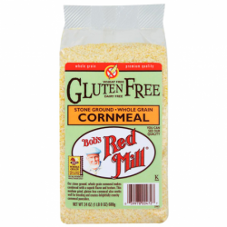 Cornmeal Gluten Free, 24 oz (680 grams) Pkg