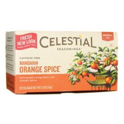 Herbal Tea Mandarin Orange Spice  Caffeine Free, 20 Bag(s)