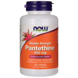 Double Strength Pantethine, 600 mg 60 Sgels
