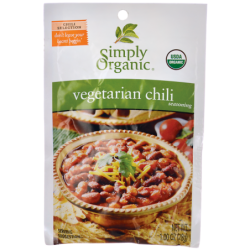 Vegetarian Chili Seasoning, 1.00 oz (28 grams) Pkg
