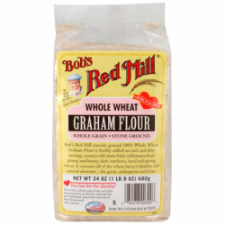 Whole Wheat Graham Flour, 24 oz (680 grams) Pkg