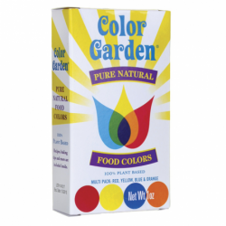 Pure Natural Food Colors  Multi Pack, 4 / 1 oz Pkts