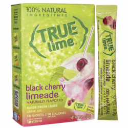 True Lime Black Cherry Limeade, 10 Pkts