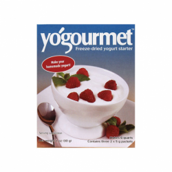 FreezeDried Yogurt Starter, 3 Pkts
