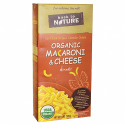 Organic Macaroni & Cheese Dinner, 6 oz Box