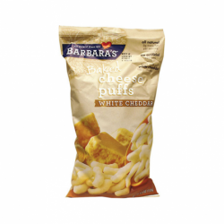 Baked Cheese Puffs White Cheddar, 5.5 oz Bag(s)