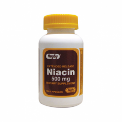 Extended Release Niacin, 500 mg 100 Caps