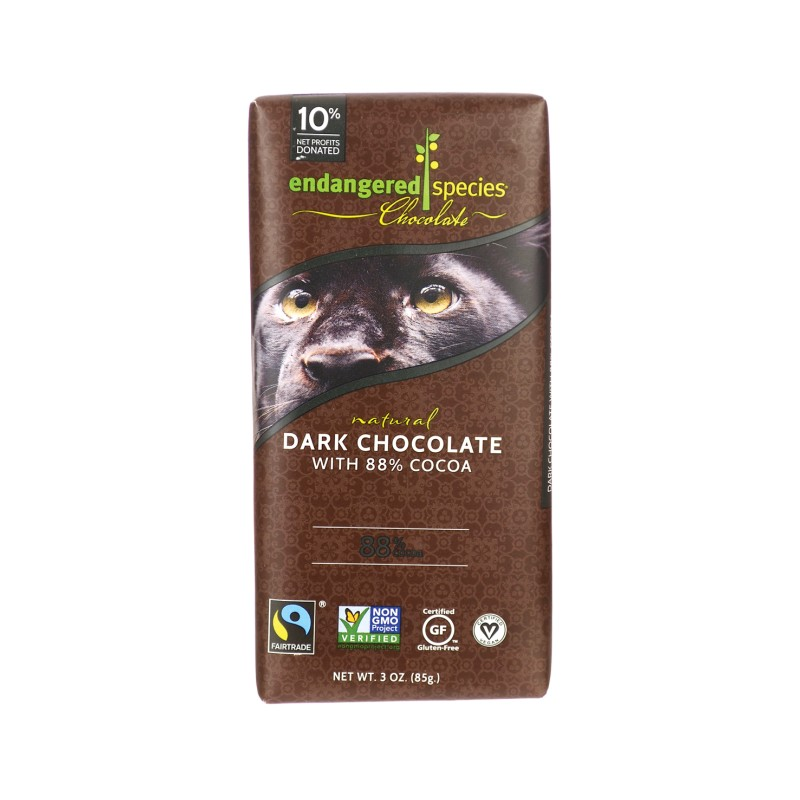 Dark Chocolate Bar with 88 Cocoa, 3 oz (85 grams) Bar(s)