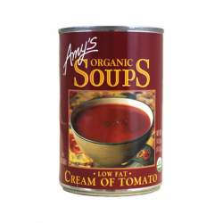 Organic Low Fat Cream of Tomato Soup, 14.5 oz (411 grams) Can