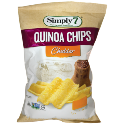 Quinoa Chips  Cheddar, 3.5 oz (99 grams) Pkg