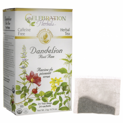 Organic Dandelion Root Raw Tea, 24 Bag(s)