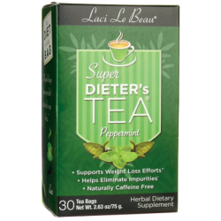 Super Dieters Tea Peppermint, 30 Bag(s)