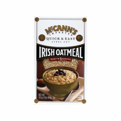 McCanns Irish Oatmeal Steel Cut Quick & Easy, 16 oz Pkg