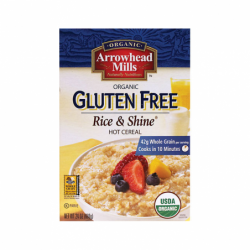 Organic Rice and Shine Hot Cereal, 24 oz Pkg