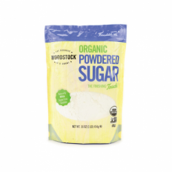 Organic Powdered Sugar, 16 oz Pkg