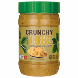 Plantation 1883 Old Fashioned Peanut Butter  Crunchy, 16 oz (454 grams) Jar