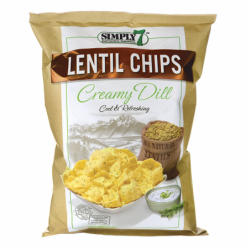 Lentil Chips  Creamy Dill,...
