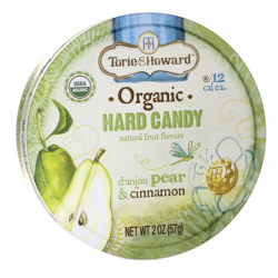 Organic Hard Candy  Danjou Pear & Cinnamon, 2 oz Pkg