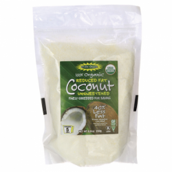 100 Organic Reduced Fat Finely Shredded CoconutUnswee, 8.8 oz Pkg