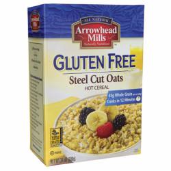 Gluten Free Steel Cut Oats, 24 oz Box