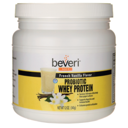 Probiotic Whey Protein  French Vanilla, 12 oz (340 grams) Pwdr
