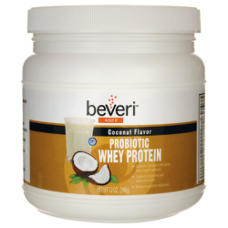 Probiotic Whey Protein  Coconut Flavor, 12 oz (340 grams) Pwdr
