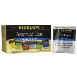 Six Assorted Tea Variety Pack, 18 Bag(s)