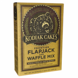 Kodiak Cakes Flapjack & Waffle MixWhole Wheat, Oat & Honey, 24 oz Box