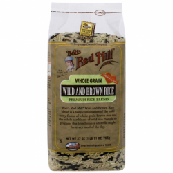 Whole Grain Wild and Brown Rice Premium Rice Mix, 27 oz (765 grams) Pkg
