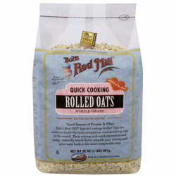 Quick Cooking Rolled Oats Whole Grain, 32 oz (907 grams) Pkg