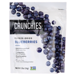 FreezeDried Blueberries, 1.2 oz (34 grams) Pkg