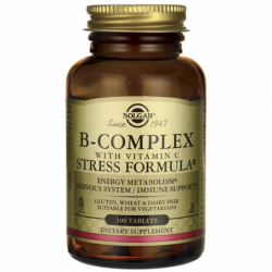 BComplex with Vitamin C Stress Formula, 100 Tabs